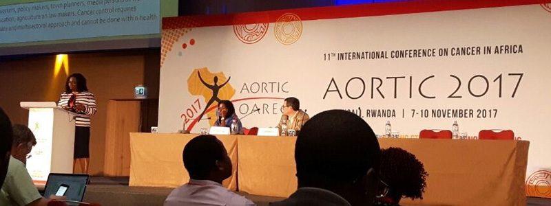 Notizie dal congresso mondiale sulla lotta dei tumori femminili a Kigali (Ruanda)