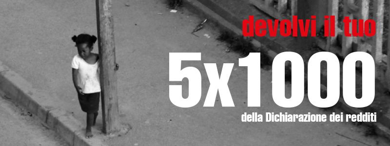 5xMille: aiutaci a sostenere i tanti progetti
