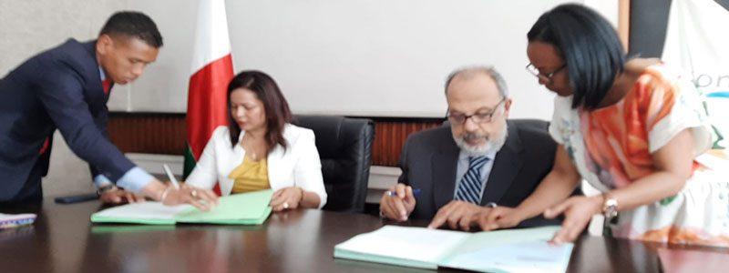 Nuove collaborazioni con il Governo Malgascio